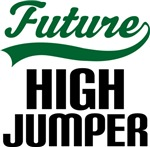 Future High Jumper Kids T Shirts
