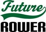 Future Rower Kids T Shirts
