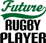 Future Rugby Player Kids T Shirts