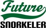 Future Snorkeler Kids T Shirts