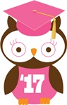 Owl 2017 Class Grad Gifts and Shirts