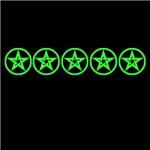 Green So Below Pentagram Pentacle