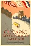 Lake Placid 1938 WPA Poster