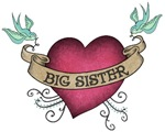 Big Sister Heart Tattoo