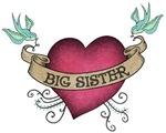 Big Sister Heart Tattoo