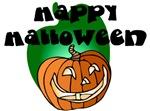 Halloween Lit Pumpkin