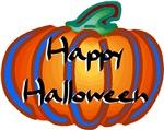 Bright Halloween Pumpkin