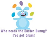 Easter Bunny? I've got Gram!