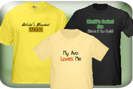 Avo Gifts and T-Shirts