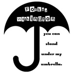 You Can Stand Under My Umbrella Forks