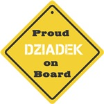 Proud Dziadek on Board