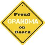Proud Grandma on Board