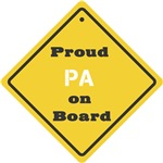 Proud Pa on Board
