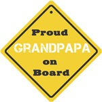 Proud Grandpapa on Board