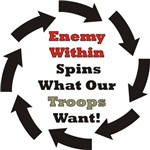 Article: Enemy Within Spins What Our Troops Want!