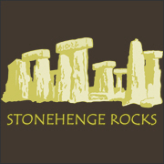 Stonehenge Rocks - Gold