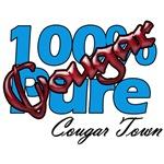 Cougar Town Tees, 100% Pure Cougar!