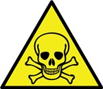 Serious Toxic Effects Warning Sign