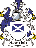 Scottish Last Name Coats of Arms