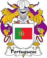 Portuguese Last Name Coats of Arms