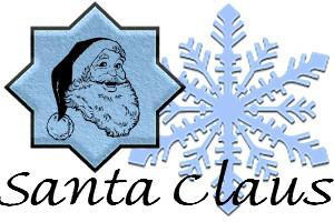 Santa Claus And Gift Designs