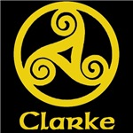 Clarke Celtic Knot (Gold)