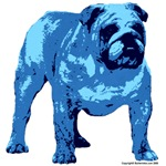 Blue Bulldog Design