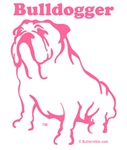 Bulldogger Logo Pink