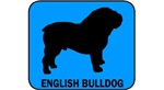 English Bulldog Sign