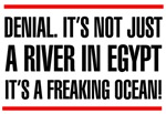 Denial is not just a river in Egypt t-shirts