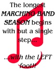The Longest Season Marching Band T-shirts & Gifts