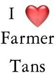 I love Farmer Tans Farming T-shirts & Gifts
