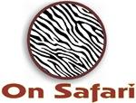 On Safari Zebra Wild Animal T-shirts & Gifts