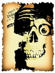 Halloween Skull Pirate T-shirts & Gifts