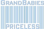 Grandbabies Priceless Blue Boys T-shirts & Gifts