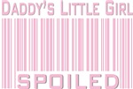 Pink Daddy's Little Girl Spoiled T-shirts & Gifts