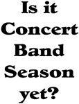 Concert Band Season Drum Corp T-shirts & Gifts