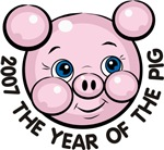 2007 Year of the Pig T-shirts & Gifts