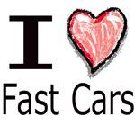 I Heart Fast Cars
