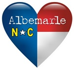 Love Albemarle North Carolina T-shirts & Gifts