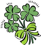 Shamrock Clover Bouquet T-shirts & Gifts