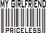 My Girlfriend Priceless Valentine T-shirts & Gifts