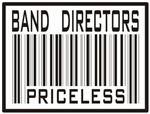 Band Directors Priceless Barcode T-shirts & Gifts