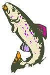 Jumping Fish Art T-shirts & Gifts