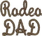 Rodeo Dad Roping Cowboy T-shirts & Gifts