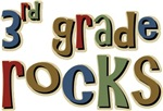 3rd Grade Rocks Third School T-shirts & Gifts