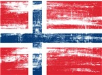 Norway Norwegian Flag Distressed T-shirts & Gifts