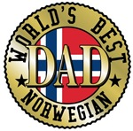 World's Best Norwegian Dad T-shirts & Gifts