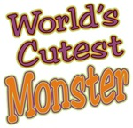 World's Cutest Monster Halloween t-shirts gifts
