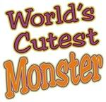 World's Cutest Monster Halloween t-shirts gifts